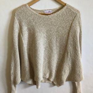 NWT Shrinking Violet Dolman Sleeve Sweater S